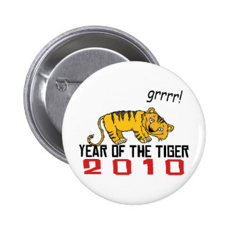 Cute Year of The Tiger 2010 Pin