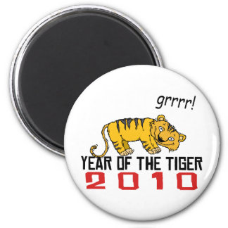 Cute Year of The Tiger 2010 Magnets