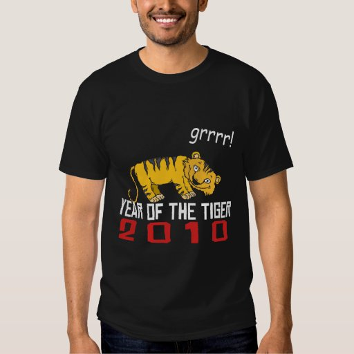 Cute Year of The Tiger 2010 Shirts