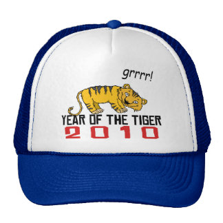 Cute Year of The Tiger 2010 Trucker Hat