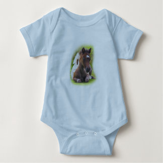 Cute Yearling Foal infant creeper