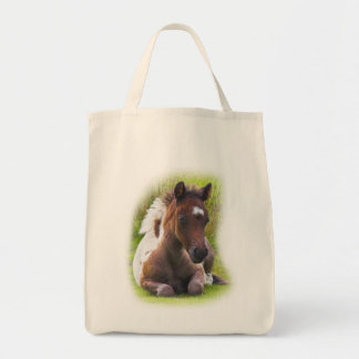 Cute Yearling Foal tote bag