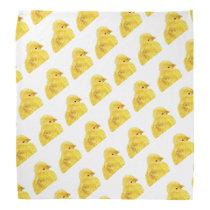 Cute yellow baby animal chick bandana