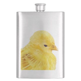 Cute yellow baby Chick Flask