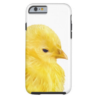 Cute yellow baby Chick Tough iPhone 6 Case