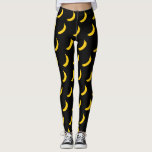 "Cute yellow banana print leggings for yoga workout<br><div class=""desc"">Cute yellow banana print leggings for yoga workout gym. Funny tropical fruit design for women and girls who love healthy food. Trendy summer print with novelty vector art design. Add your own custom background color ie black. Fun Birthday gift idea for vegan, vegatarian, chef cook, dietitian, nutritionist, friend, dancer, personal...</div>"