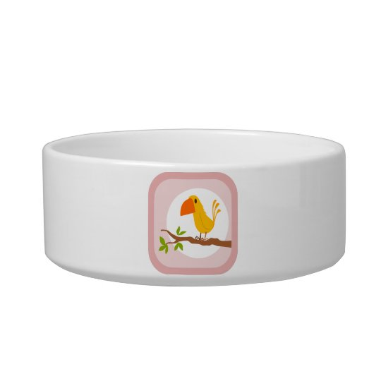 Cute Yellow Bird Bowl