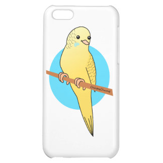 Cute Yellow Budgie iPhone 5C Cases