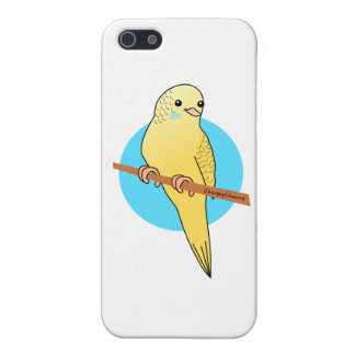 Cute Yellow Budgie Cases For iPhone 5