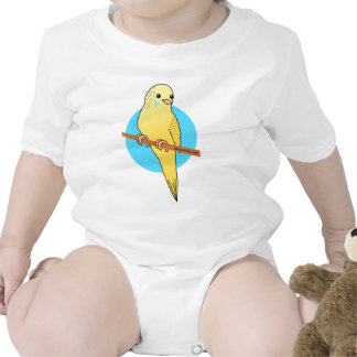 Cute Yellow Budgie T Shirts