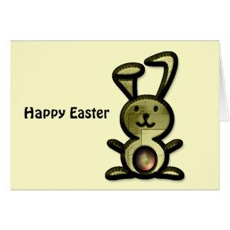Cute Yellow Bunny Card