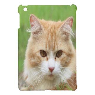 Cute yellow cat iPad mini cases