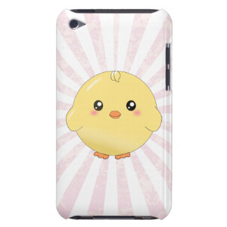 Cute yellow chick iPod Case-Mate case