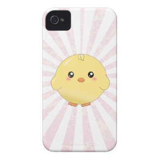 Cute yellow chick iPhone 4 covers