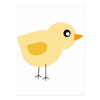 Cute Yellow Chick Postcard