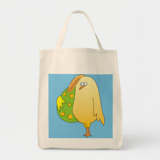 Cute Yellow Chicken Easter Bags