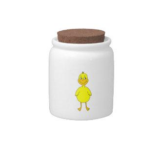 Cute Yellow Duck. Candy Dish