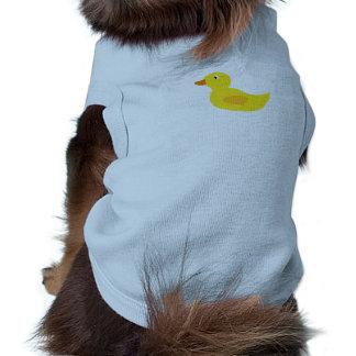 Cute yellow duck pet shirt
