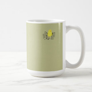 Cute Yellow Easter Chick Destroys City! Coffee Mug
