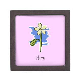 Cute Yellow Flower Gift Box