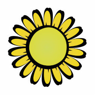 Cute Yellow Flower Magnet
