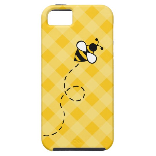 hot sale online 2a377 eb5e6 Cute Yellow Honey Bee iPhone Case
