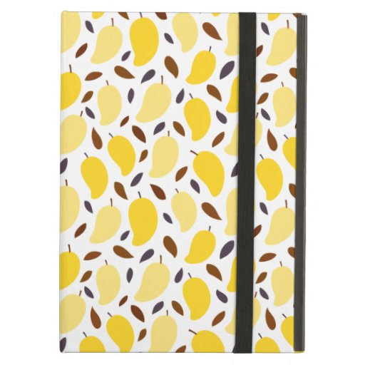 Cute Yellow Mango Pattern Case For iPad Air