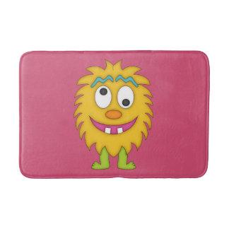Cute Yellow Monster-Kids Bath Mats