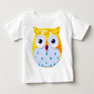 Cute Yellow Owl Baby T-Shirt