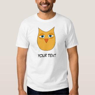 Cute Yellow Owl - Embarassed T-Shirt