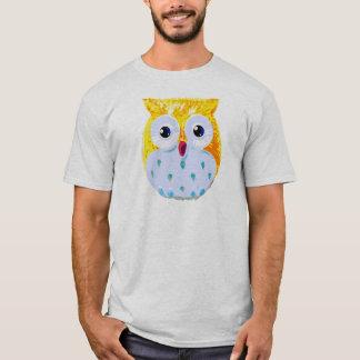 Cute Yellow Owl T-Shirt