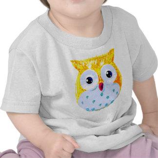 Cute Yellow Owl Shirt