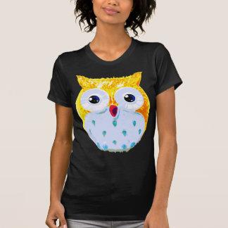Cute Yellow Owl Tshirts