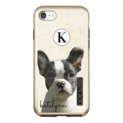Incipio DualPro Shine iPhone 7 Case with Boston Terrier Phone Cases design