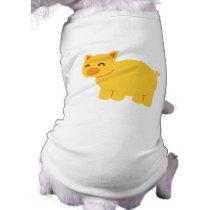 Cute Yellow Piggy Shirt