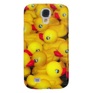 Cute yellow rubber duckies galaxy s4 case