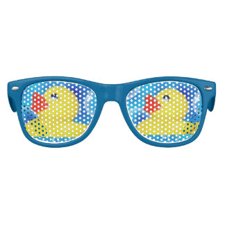 floating sunglasses 63no  Cute Yellow Rubber Ducks Floating in Bubbles Kids Sunglasses
