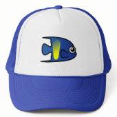 Cute Yellowbar Angelfish