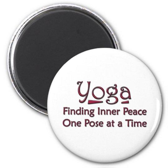 Cute Yoga Saying Magnet
