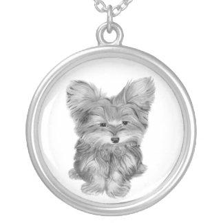Cute Yorke Dog Necklace