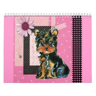 Cute Yorkie Calendar