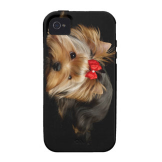 Cute yorkie case for the iPhone 4