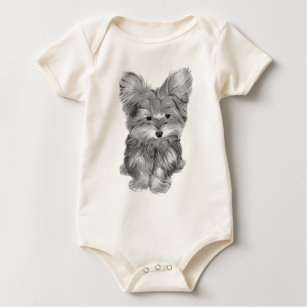 Cute Yorkie Baby Clothes Shoes Zazzle