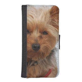 Cute Yorkie iPhone 5 Wallet