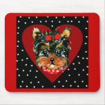 Cute Yorkie Poo Mouse Pads