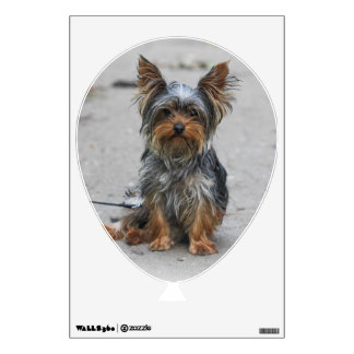Cute Yorkie Wall Sticker