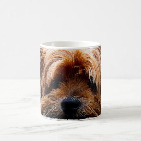 Cute Yorkshire Terrier Dog Coffee Mug