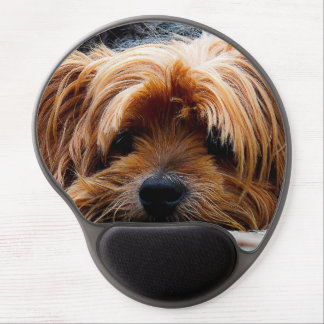 Cute Yorkshire Terrier Dog Gel Mouse Pad
