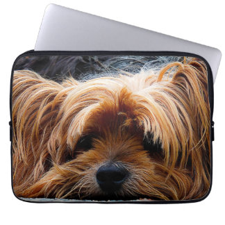 Cute Yorkshire Terrier Dog Laptop Sleeve