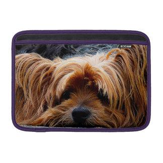 Cute Yorkshire Terrier Dog MacBook Sleeve